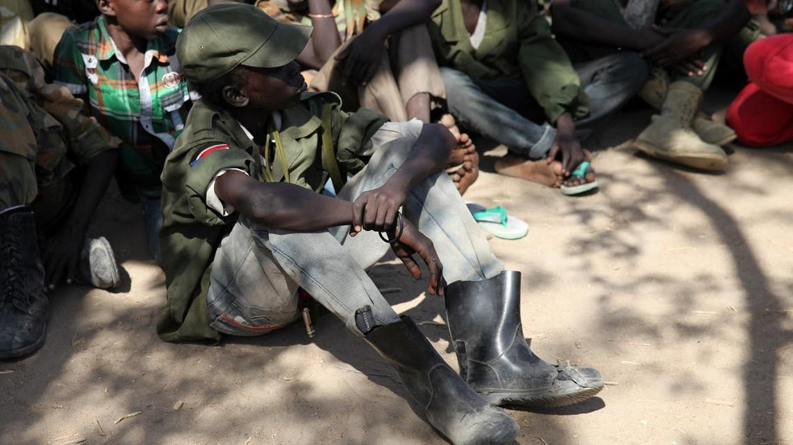 Child Soldiers south sudan reuters