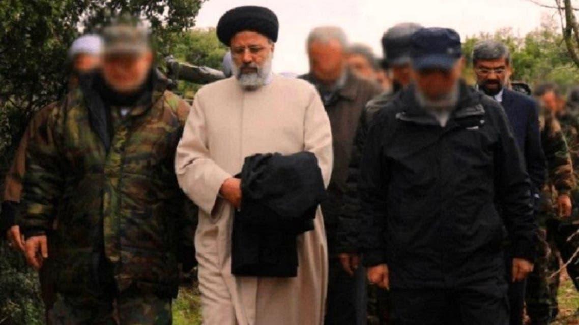Ayatollah Raisi and hezbollah. (Social Media)
