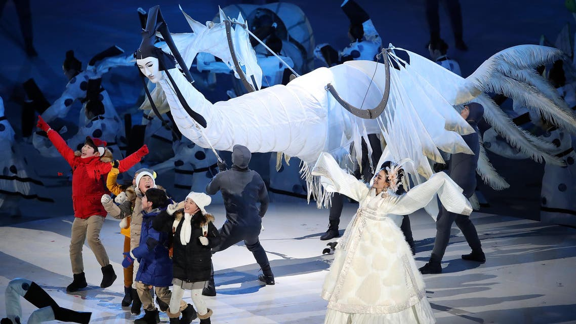Pyeongchang 2018 Winter Olympics – Opening Ceremony – Pyeongchang Olympic Stadium- Pyeongchang, South Korea – February 9, 2018 (Reuters)