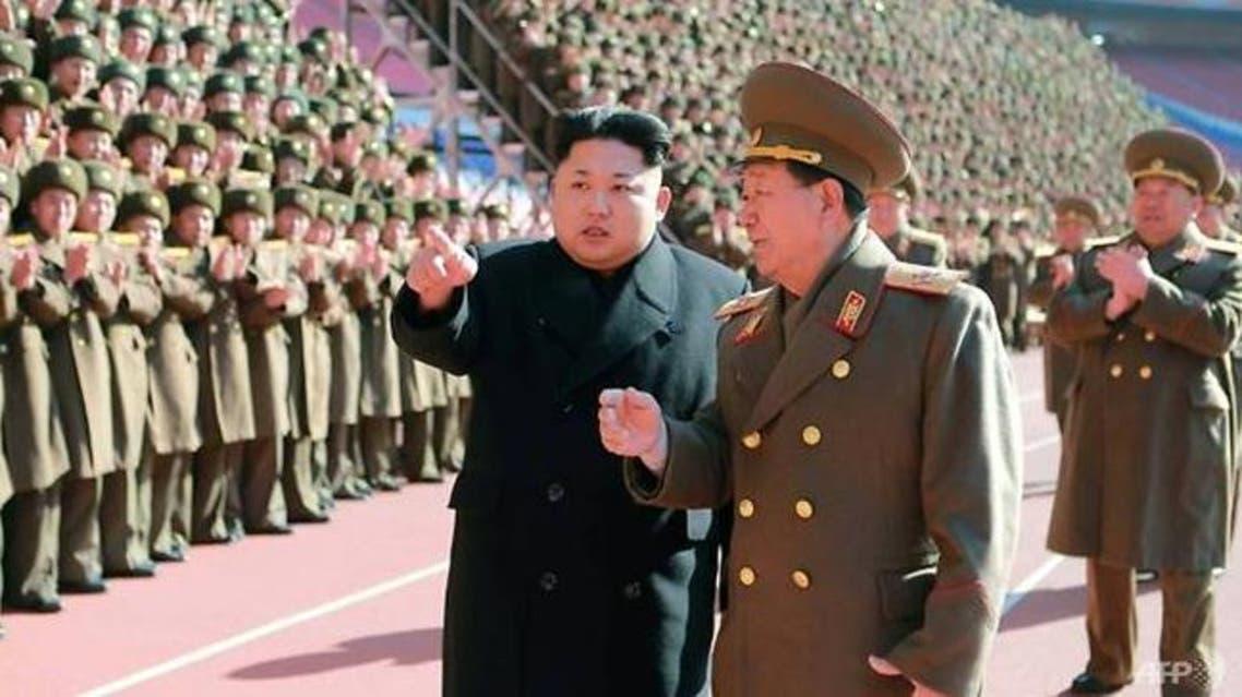 زعيم كوريا الشمالية يتحدث إلى قائد الجيش المعزول في وقت سابق
