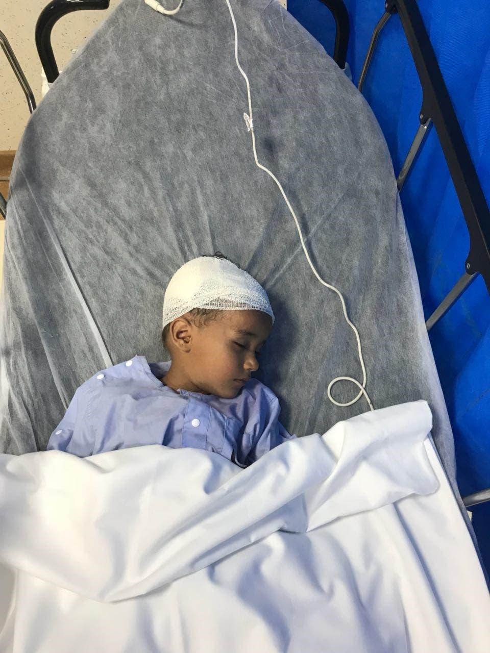 إصابة طفل إثر سقوط مقذوف حوثي في جازان (أرشيفية)
