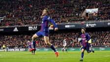 Coutinho scores as Barcelona reaches 5th straight Copa final