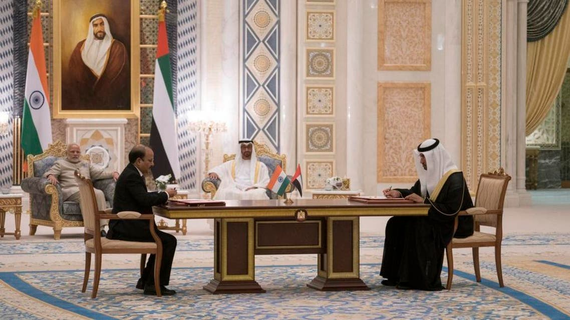 India, UAE sign five government-to-government MoUs