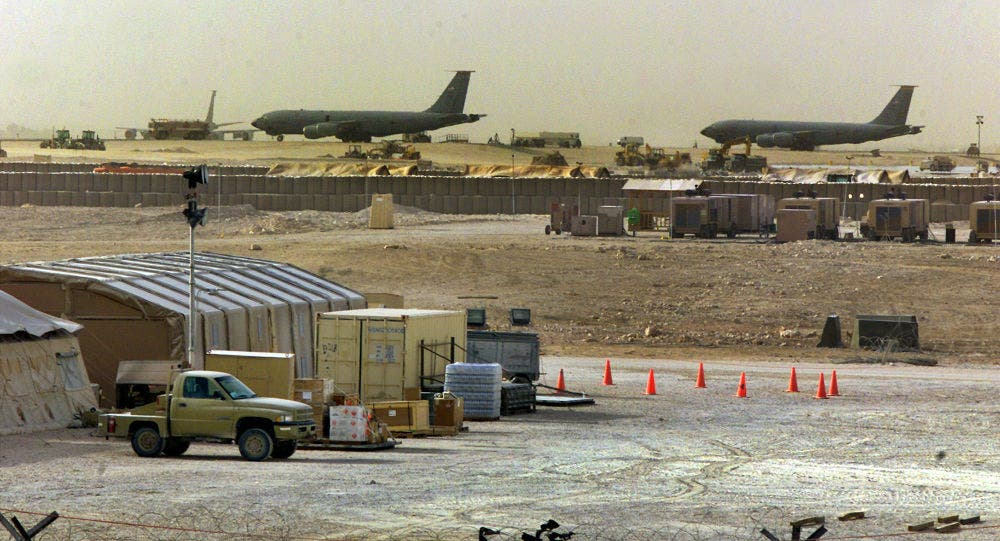 من قاعدة العديد الأميركية في قطر (أرشيفية)