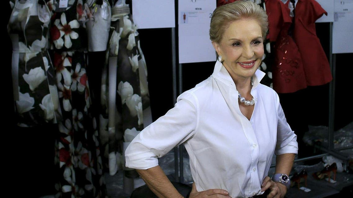 Carolina Herrera, queen of elegance and favorite of US first ladies, is stepping down as chief designer of her eponymous label. (AFP)