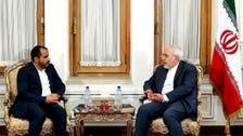 حوثیوں کے ترجمان کی ایرانی وزیر خارجہ سے ملاقات