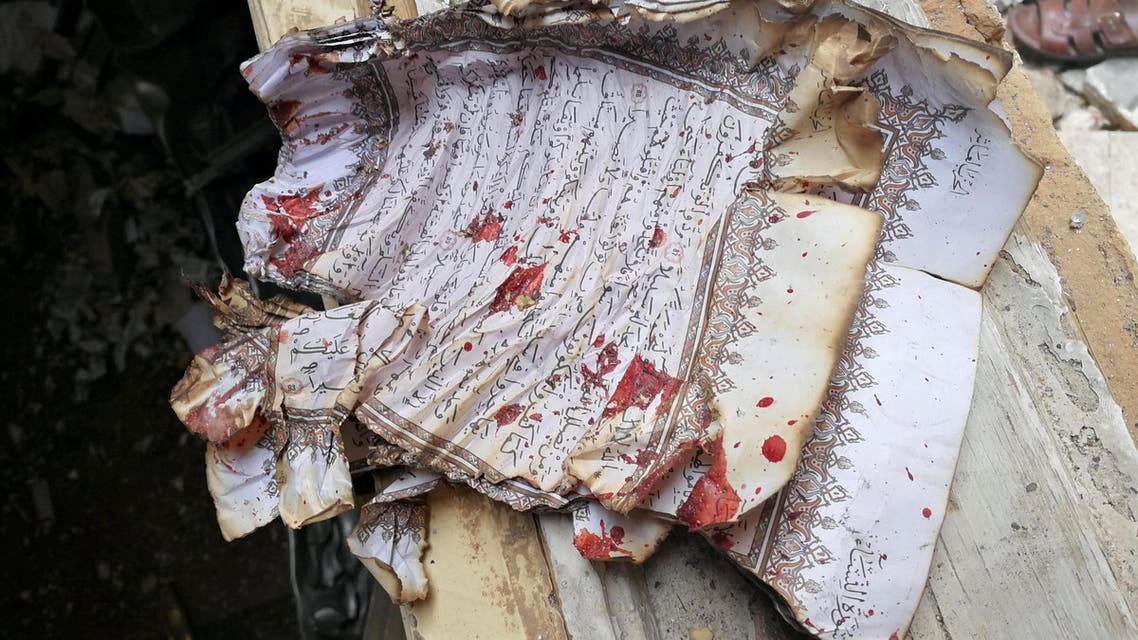 تفجير مسجد في بنغازي