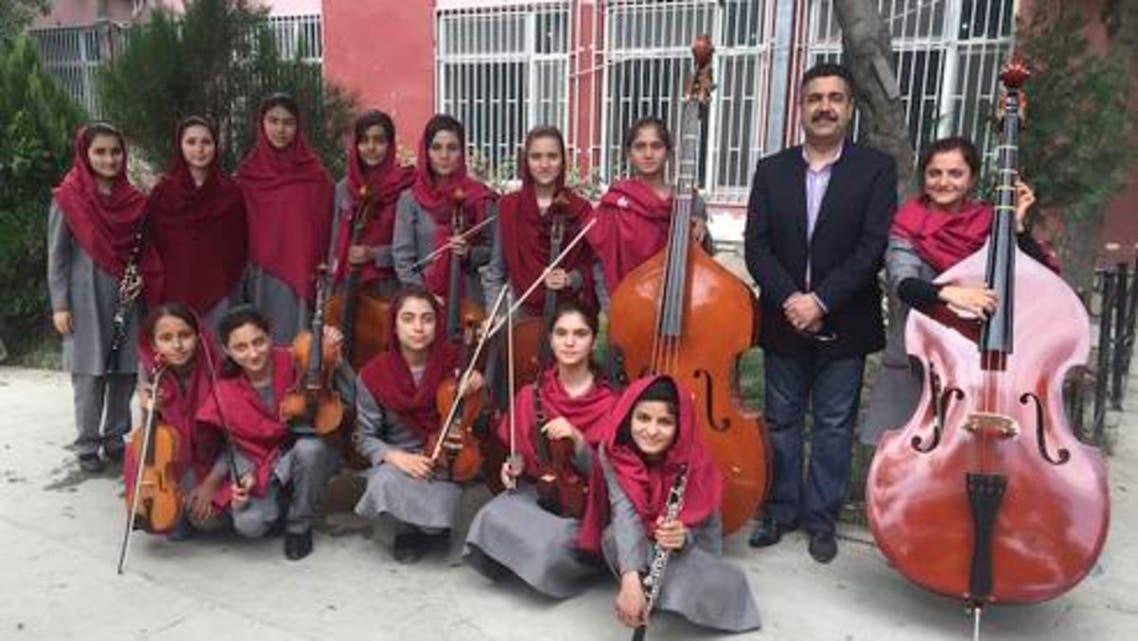 أوركسترا نسائية أفغانية