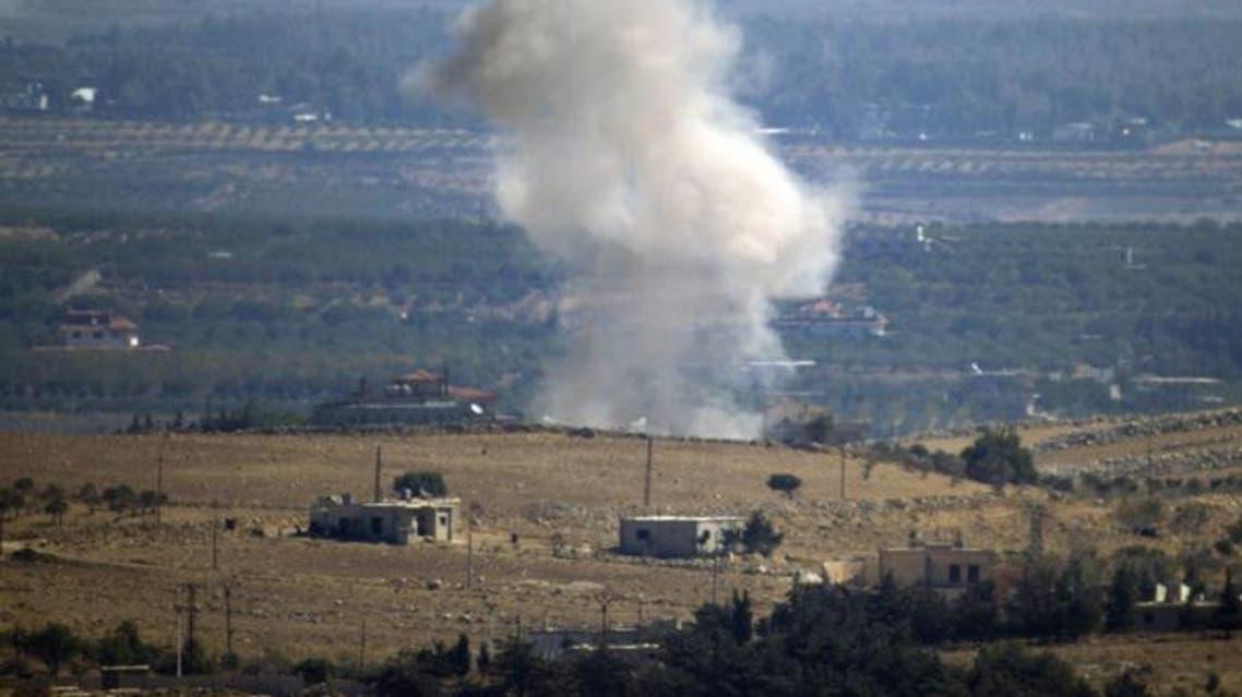 درگیری هوایی اسرائیل با سوریه و ایران در ارتفاعات اشغالی جولان