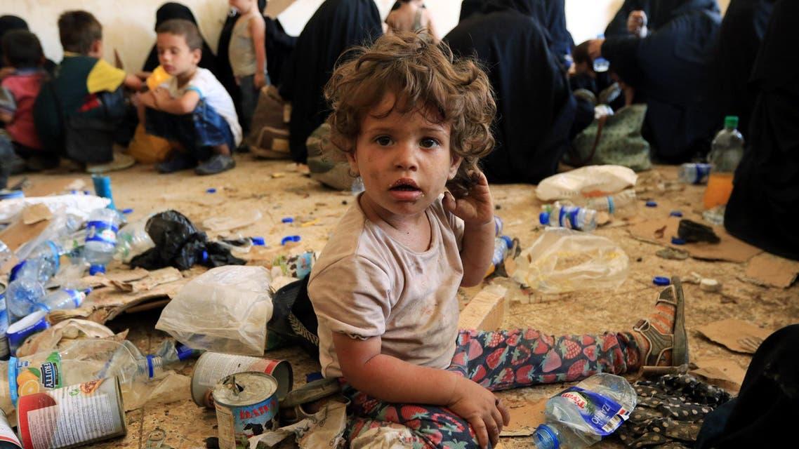 Iraq children. (Reuters)
