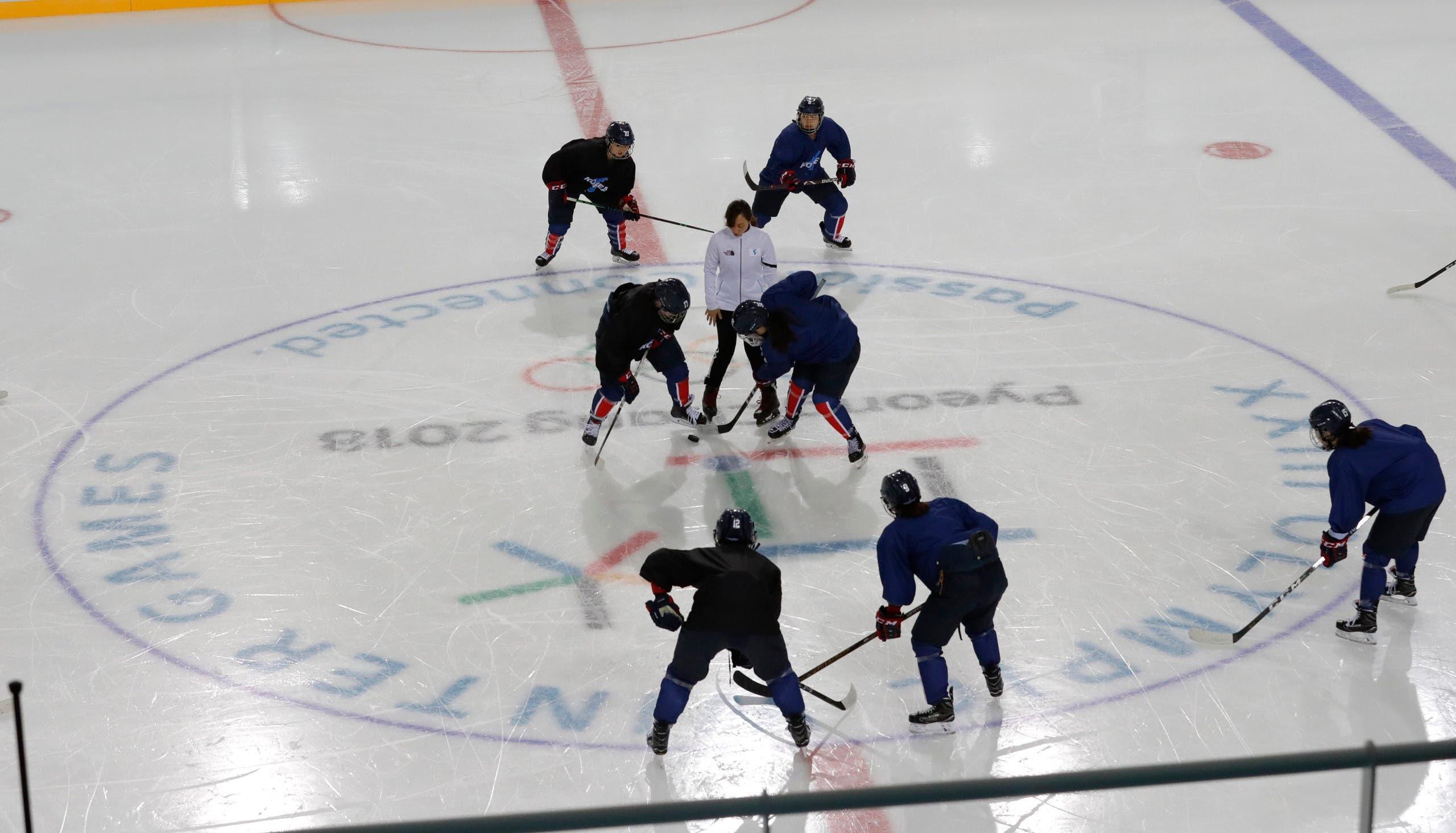 فريق هوكي الجليد النسائي الكوري الموحد