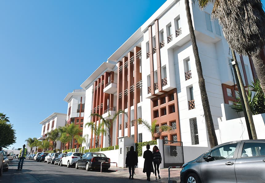 مبنى مؤسسة الملك عبدالعزيز آل سعود للدراسات الإسلامية والعلوم الإنسانية من الخارج