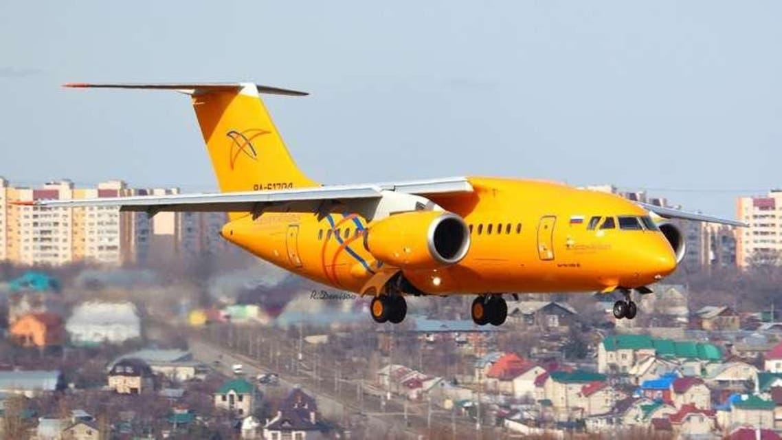 """طائرة """"أن-148"""" لشركة """"خطوط ساراتوف الجوية"""""""