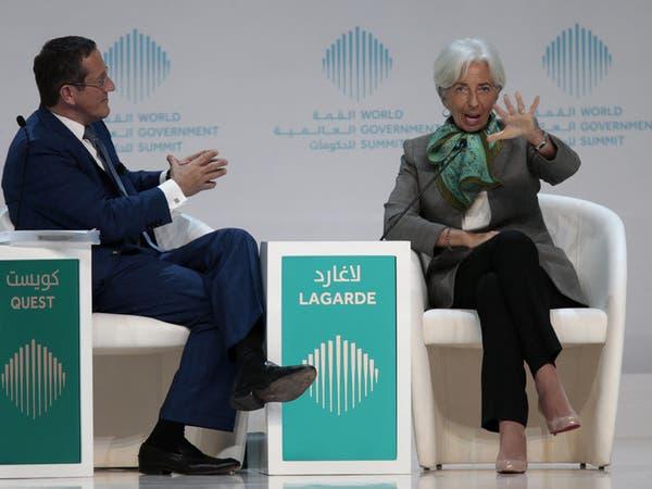 """لاغارد: تقلبات الأسواق """"غير مقلقة"""" والإصلاح ضرورة"""