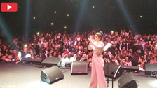 WATCH: Egyptian singer Sherine kicks security guard for blocking fan in Sweden