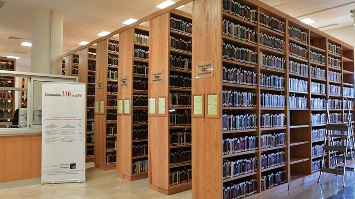 تحتوي المكتبة على أرشيف ضخم من المخطوطات والأبحاث