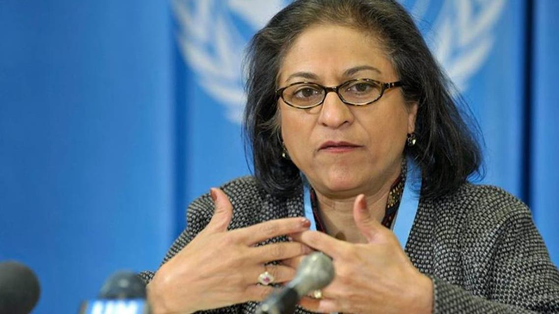 عاصمة جهانغير  مقررة الأمم المتحدة الخاصة لحقوق الإنسان في إيران