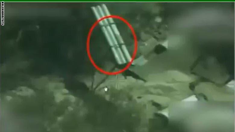 طيران التحالف يرصد منصة صواريخ حوثية ويدمرها