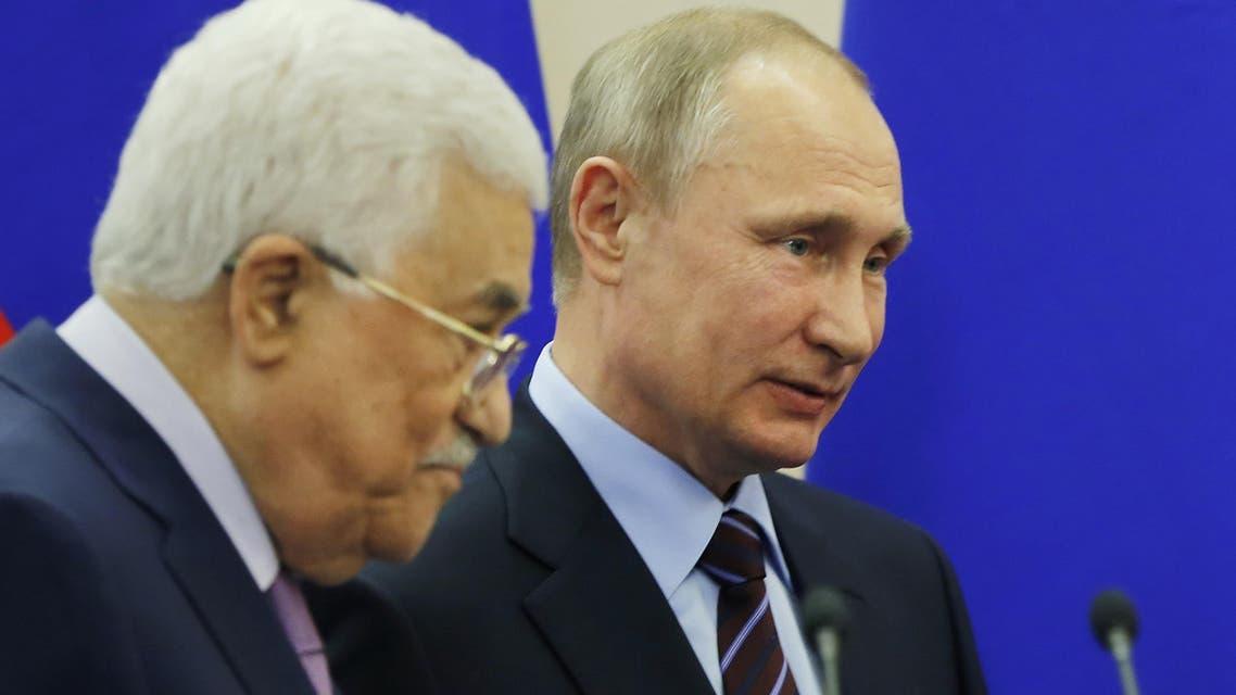 بوتين عباس
