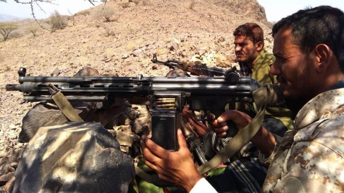 الجيش اليمني والمقاومة في كرش شمال لحج
