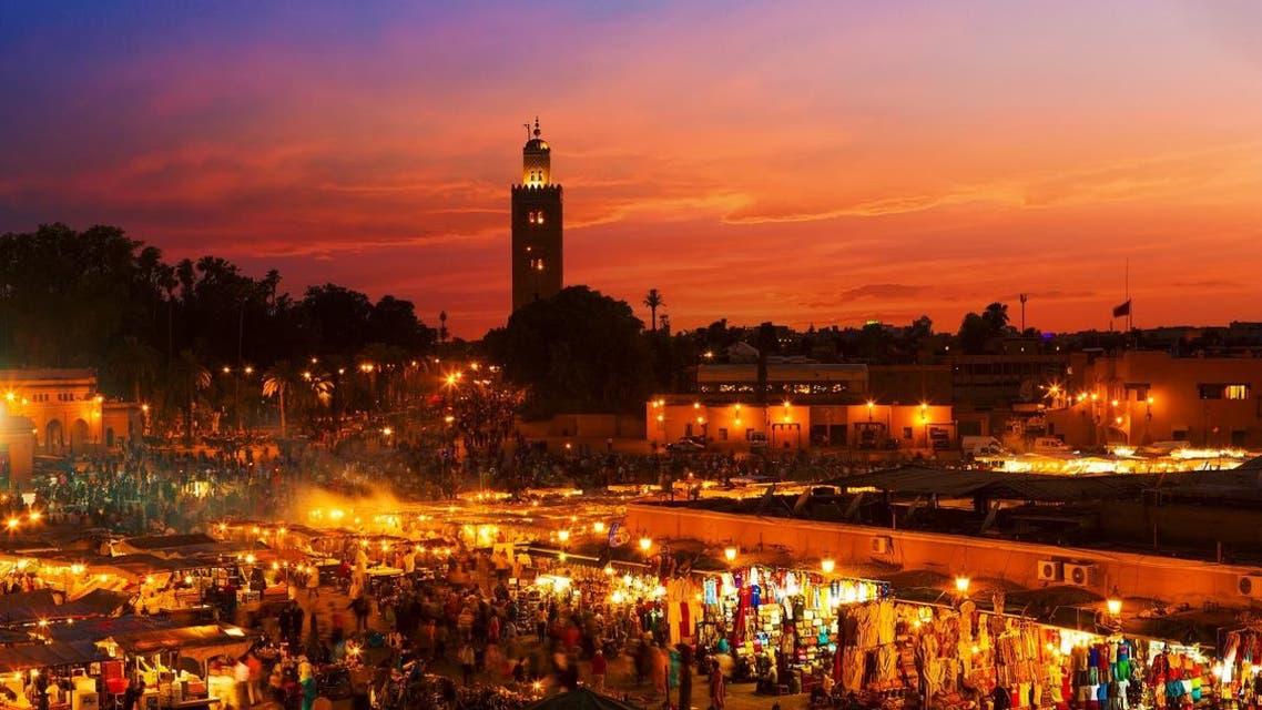 Sunset in Marrakesh, Morocco shutterstock