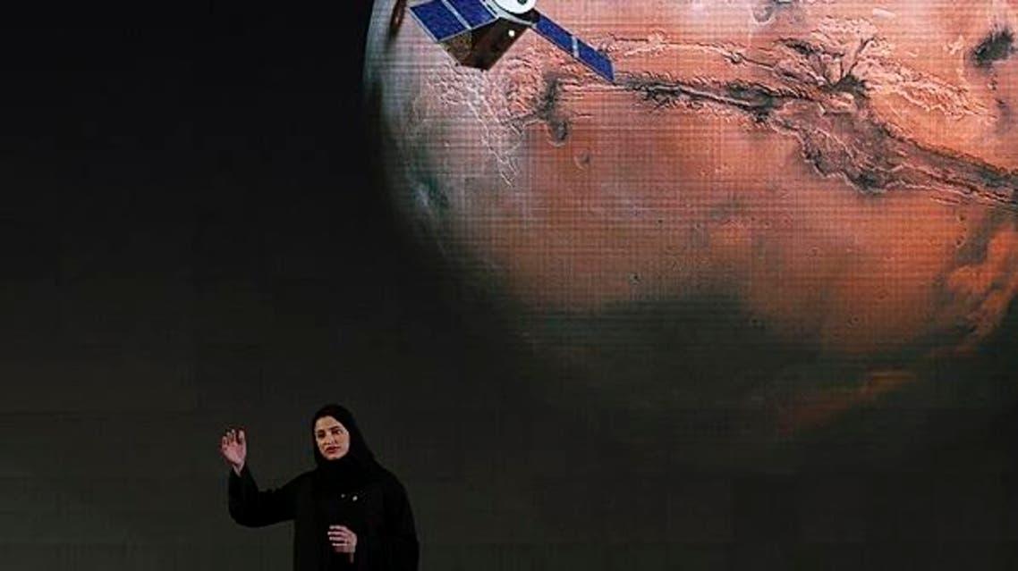 UAE space launch. (AP) final
