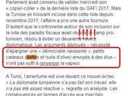 """رشاوى """"بتمور وزيت زيتون"""" توقع بين تونس وصحيفة فرنسية"""