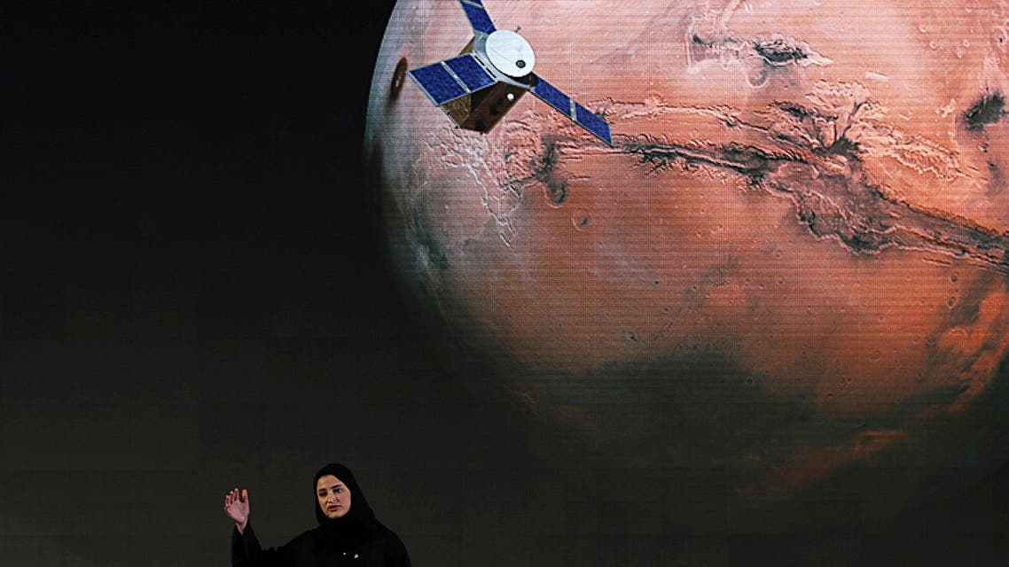 UAE space launch. (AP)