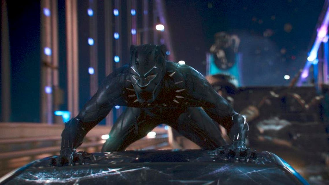 """This image released by Disney shows a scene from Marvel Studios' """"Black Panther."""" (AP)"""