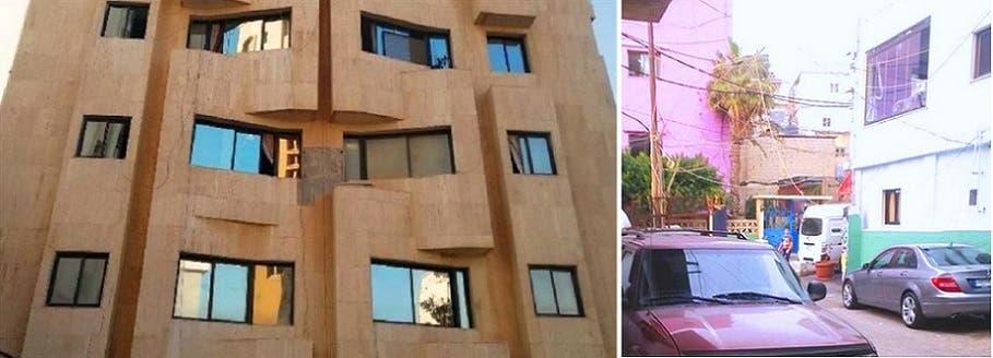 بيت عمته حيث نشأ وترعرع في بيروت، والعمارة حيث كانت الجثة في ثلاجة احدى شققها بالكويت
