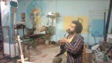 مصری نوجوان نے کوڑے کرکٹ سے آلات موسیقی تیار کر لیے
