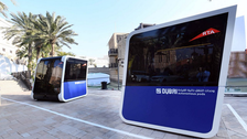 World's first 'autonomous pods' unveiled in Dubai – but what are they?