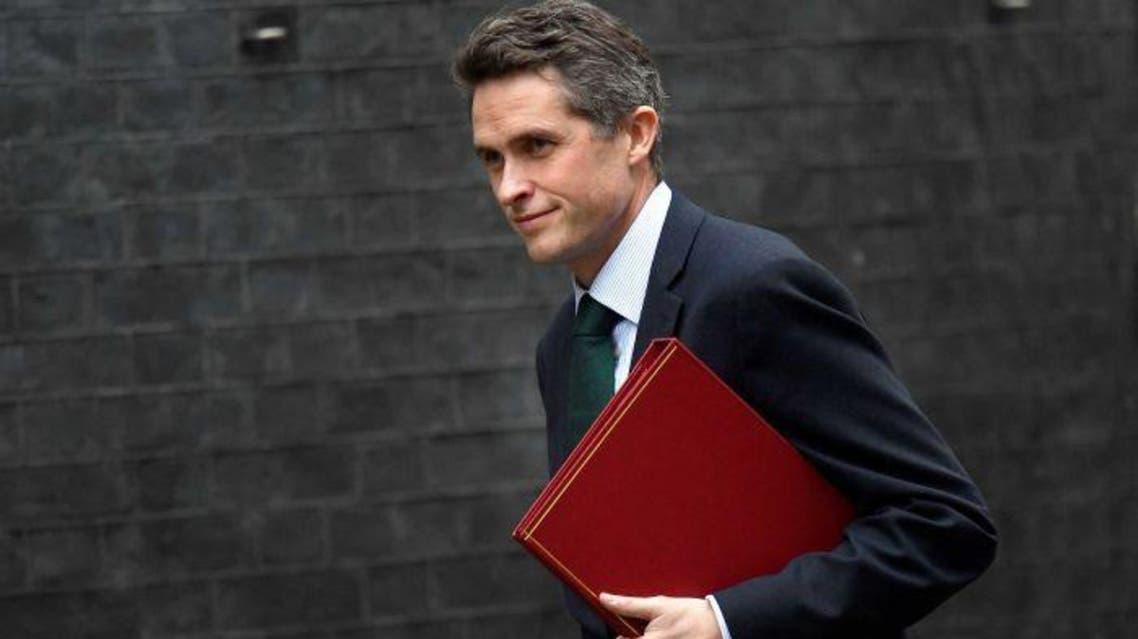 وزير الدفاع البريطاني ويليامسون