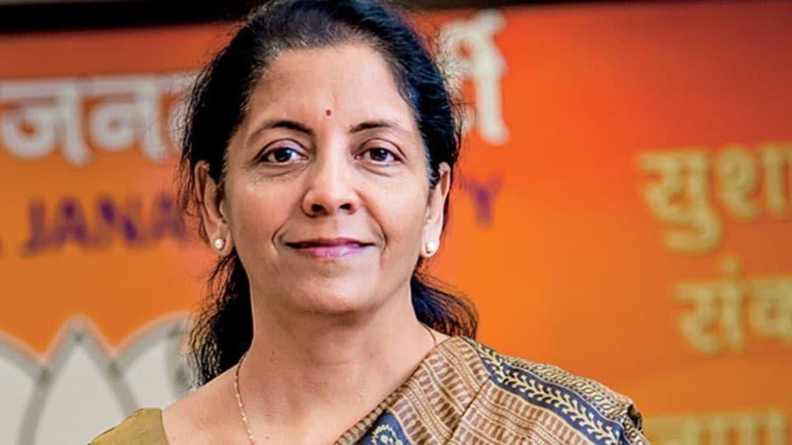 بھارتی وزیر دفاع نرملا ستھیارامان