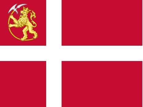 العلم النرويجي في الفترة مابين 1814 و1821