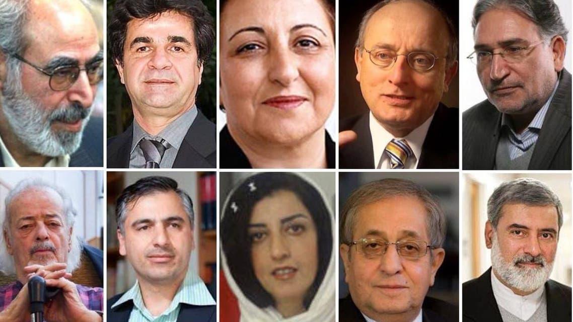 شخصيات إيرانية تطالب باستفتاء عام لتغيير النظام