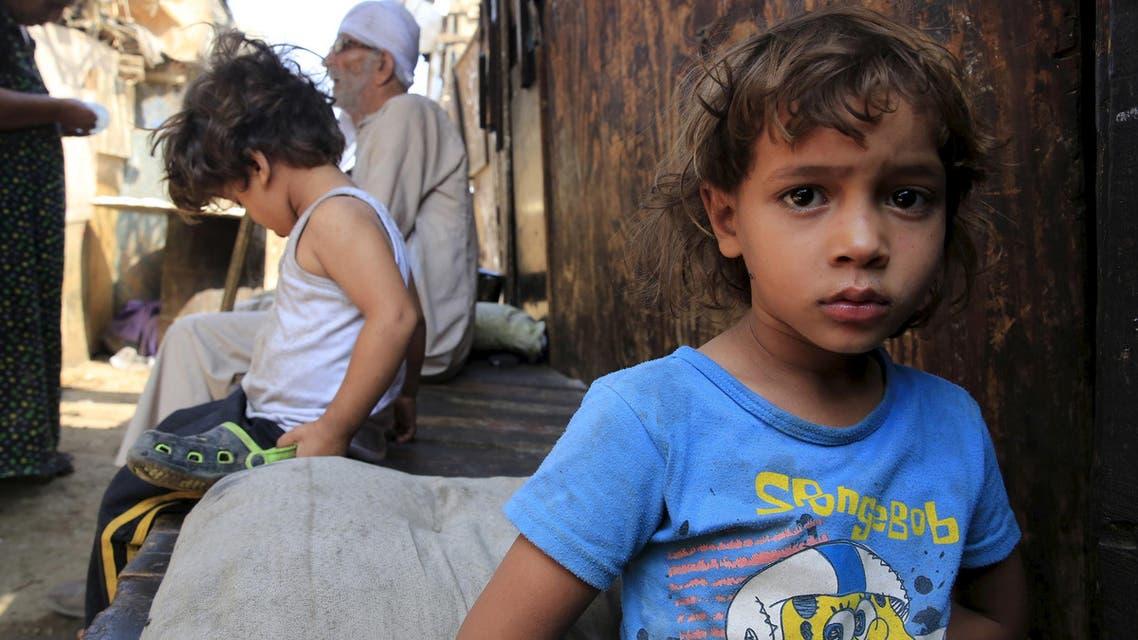 Egypt children. (Reuters)