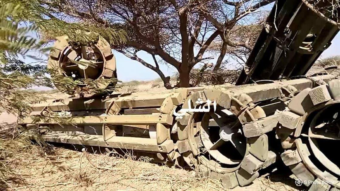 صواريخ حوثية في حيس