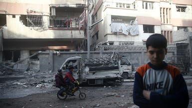 بعد التصعيد.. أول قافلة مساعدات تدخل الغوطة الشرقية