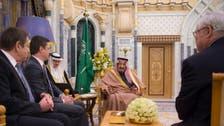 King Salman, Russian energy minister discuss rebalancing oil markets