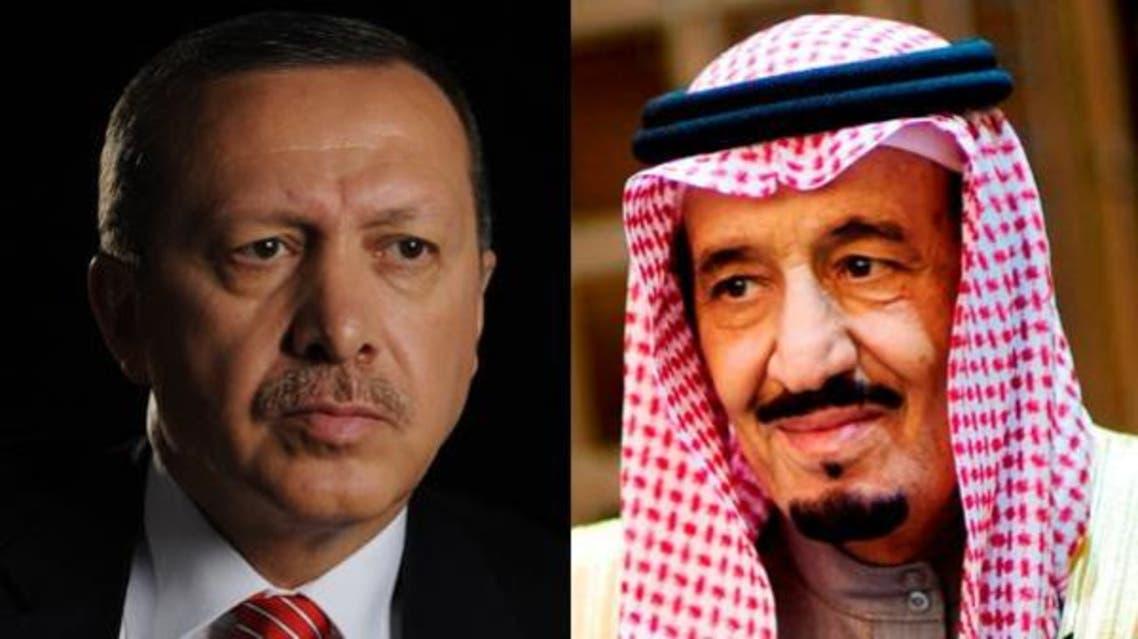 ملک سلمان و اردوغان در گفتگوی تلفنی اوضاع منطقه را مورد بررسی قرار دادند