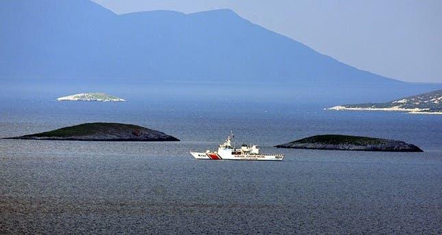 دورية تركية في بحر ايجة