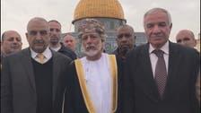 "عُمَانی وزیر خارجہ کا منفرد دورہ ""مسجد اقصی"""