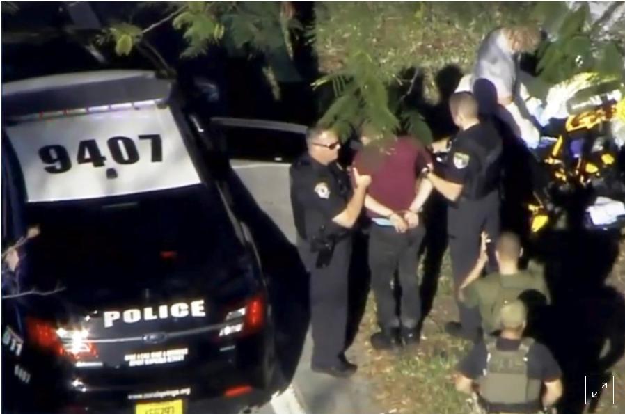 الشرطة تلقي القبض على شخص يعتقد بأنه المنفذ