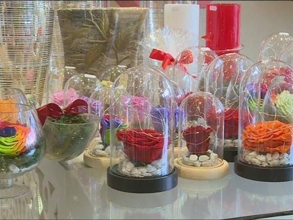 بيع الورد الأحمر في عيد الحب قبل سنوات كان من المحظورات