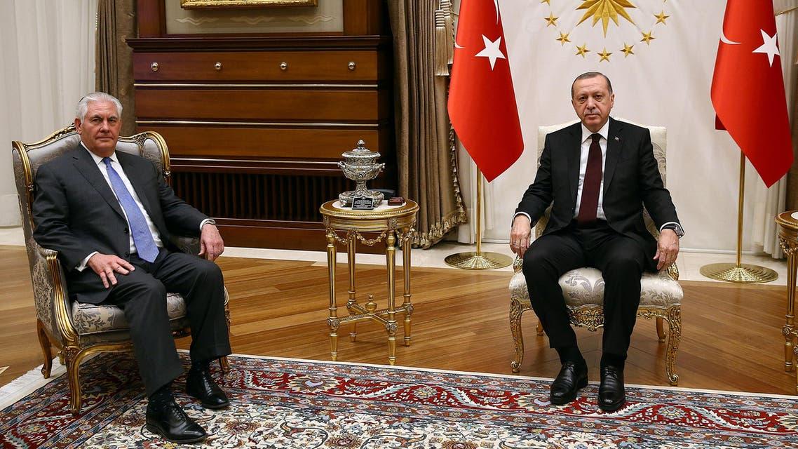أردوغان و تيلرسون 3
