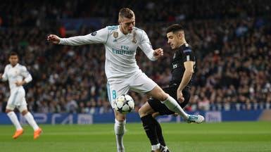 كروس يتعرض إلى إصابة في الركبة ويغيب عن ريال مدريد