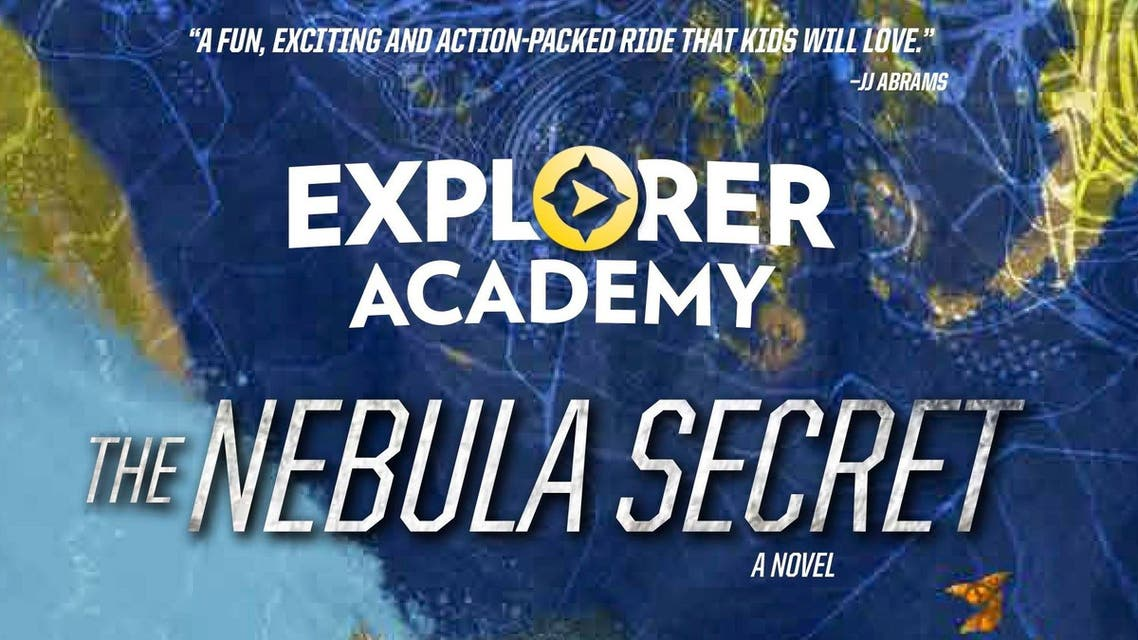 "This cover image released by National Geographic shows, ""Explorer Academy: The Nebula Secret,"" by Trudi Trueit which will be released in September. It is the the first of a 7-book series under the new imprint called Under the Stars. (National Geographic via AP)"