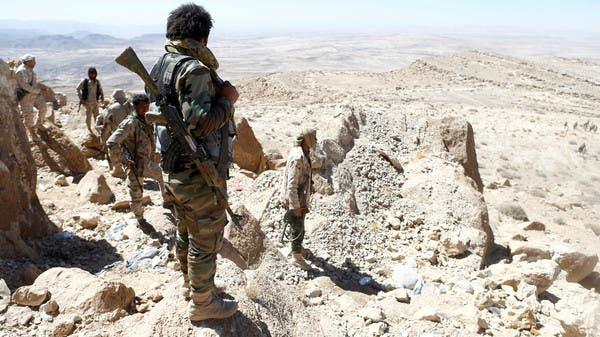"""عناصر من الجيش اليمني """"أرشيفية"""""""