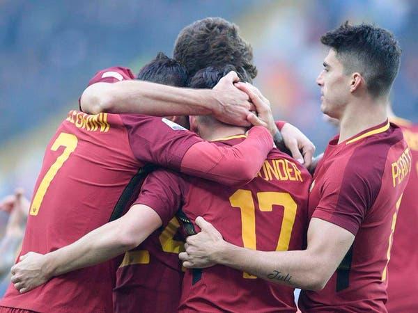 روما يتغلب على أودينيزي ويصعد إلى المركز الثالث